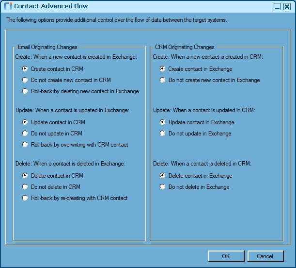 Create & Configure a Sync Policy for Exchange or IBM Notes